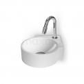 Hoekfontein WC Mintra Mineraalmarmer Glanzend Wit Maxaro Mintra M110-1020