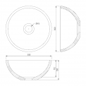 Maxaro Modulo Pico BMT000476 Hangend toiletmeubel