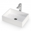 Waskom Mintra Solid Surface Mat Wit 45x32,5cm Rechthoek Maxaro Mintra M120-0151