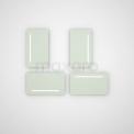 MOCOORI M31 M31-0400-55500 Toiletspiegel