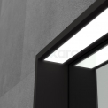 Badkamerspiegel Preto Zwart met LED Verlichting 100x60cm