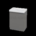 Toiletmeubel met Wastafel Keramiek Modulo+ Pico Basalt 40cm