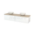 Badkamermeubel voor waskom Maxaro Modulo+ Plato BMK002395