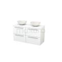 Badkamermeubel voor waskom Maxaro Modulo+ Plato BMK002554