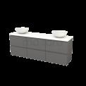 Badkamermeubel voor waskom Maxaro Modulo+ Plato BMK002947