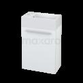 Toiletmeubel met Wastafel Mineraalmarmer Canto Hoogglans Wit 40cm Maxaro Canto BMT000010