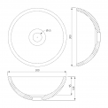 Maxaro Modulo Pico BMT004105 Hangend toiletmeubel