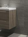 Natuursteen & Uni badkamer