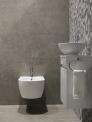 Natuursteen toilet