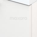 Badkamermeubel voor Waskom 70cm Modulo+ Plato Hoogglans Wit 1 Lade Vlak