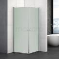 Douchecabine Zircon Comfort Matglas 90x90cm Vierkant met Draaideur