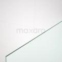 Maxaro Pearl IPA10307M Douchewand Inloopdouche 100cm Mat Veiligheidsglas 8 mm Mat zwart