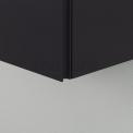 Badkamerkast Medio+ 120x40cm Carbon 1 Deur Greeploos