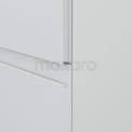 Badkamerkast Lungo+ 170x40cm Mat Wit 1 Deur