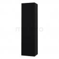 Badkamerkast Sideo 150x40cm Zwart 2 Deuren Linksdraaiend Maxaro Sideo S25-0400-52161