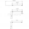 Maxaro Zircon Comfort S8110-5565 Badwand