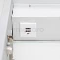 Maxaro K40 K40-1200-55504 Inbouw Spiegelkast met Verlichting 120x70cm Spiegelverwarming en Stopcontact