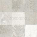 Vloertegel/Wandtegel Viene Saffraan Decor 60x60cm Natuursteenlook Grijs Gerectificeerd