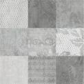 Vloertegel/Wandtegel Viene Ombergrijs Decor 60x60cm Natuursteenlook Antraciet Gerectificeerd Tegel Viene 303-030114