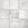 Vloertegel/Wandtegel Adagio Cement 20x20cm Uni Grijs Gerectificeerd Tegel Adagio 401-020301