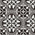 Vloertegel/Wandtegel Memory Classic Black 20x20cm Portugees Multicolor Tegel Memory 402-010104
