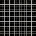 Glasmozaïek Wave Black Star 32,7x32,7cm Zwart Glanzend Tegel Wave 306-020105