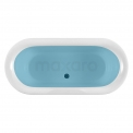 Vrijstaand Bad op Pootjes Conca 171x78cm Acryl Glans Wit