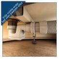 Vrijstaand Bad Cesano 180x85cm Acryl Glans Wit