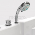 Whirlpool Bad Vortex Brass 1 Persoons Rechts 172x85cm Watermassage
