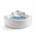 Whirlpool Bad Arctic Silver 1-2 Persoons 135x135cm Watermassage Maxaro Arctic W002-143CM
