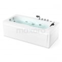 Showroommodel Whirlpool Bad Arctic Brass 1 Persoons Links 170x82cm Watermassage Maxaro Arctic W003-171BL