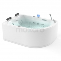 Whirlpool Bad Atlantic Platinum 2 Persoons Links 170x120cm Water- en luchtmassage met Turbo Maxaro Atlantic W04013EL