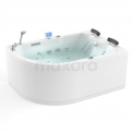 Whirlpool Bad Atlantic Gold 2 Persoons Rechts 170x120cm Water- en luchtmassage Maxaro Atlantic W04013DR