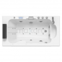 Whirlpool Bad Pacific Silver 1 Persoons Rechts 170x92cm Watermassage