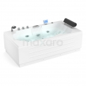 Whirlpool Bad Pacific Silver 1 Persoons Links 170x92cm Watermassage Maxaro Pacific W061-173CL