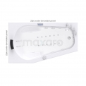 Whirlpool bad MOCOORI Atlantic Premium W07012DL