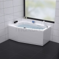 Whirlpool Bad Atlantic Silver 1 Persoons Links 170x100cm Watermassage Maxaro Atlantic W07012CL