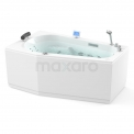 Whirlpool Bad Atlantic Gold 1 Persoons Links 170x100cm Water- en luchtmassage Maxaro Atlantic W07013DL