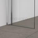 Douchecabine 100x90cm Zircon Comfort met Draaideur