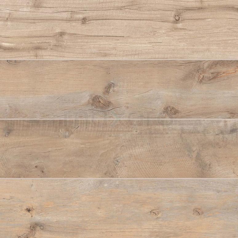 Tegel Vivido 405-010201 Vloertegel/Wandtegel Vivido Oak 20x80cm Houtlook Bruin Gerectificeerd