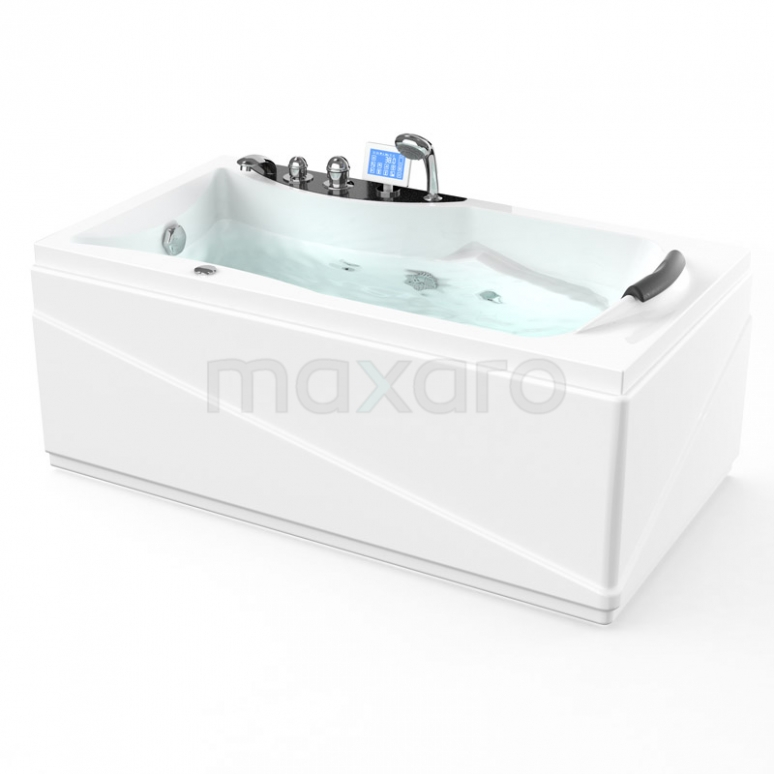 Whirlpool Bad Reef Silver 1 Persoons Links 150x80cm Watermassage