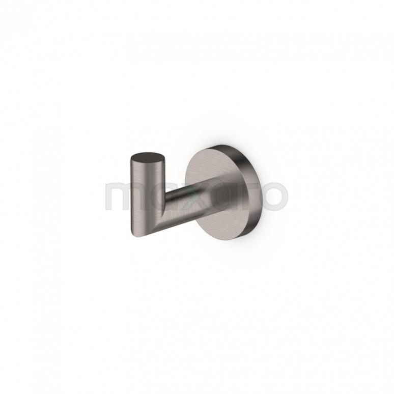 Handdoekhaak Radius Steel, Rvs-look