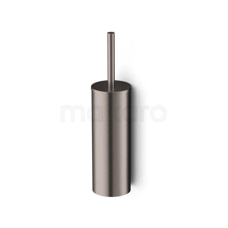WC Borstel Radius Steel, Hangend, Rvs-look