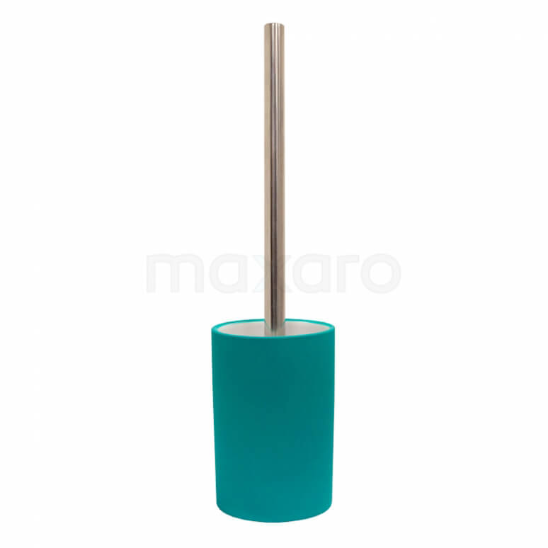 WC Borstel Solid, Staand, Turquoise Keramiek