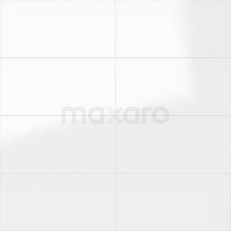 Wandtegel Blanco 30x60cm Uni Wit Glanzend Gerectificeerd