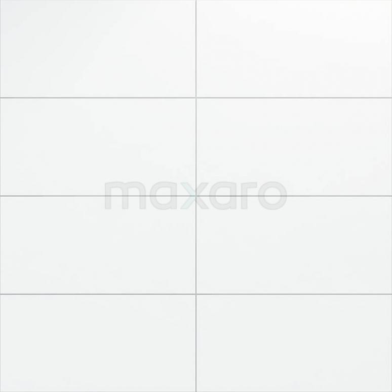 Wandtegel Blanco 30x60cm Uni Wit Mat Gerectificeerd