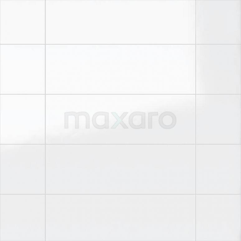 Wandtegel Blanco 25x75cm Uni Wit Glanzend Gerectificeerd