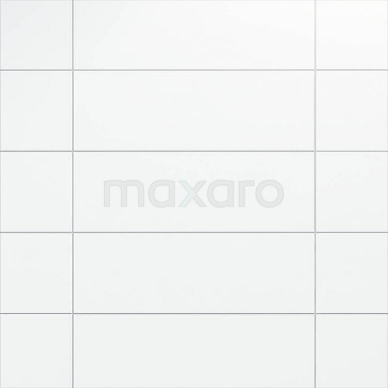 Tegel Blanco 301-500202 Wandtegel Blanco 25x75cm Uni Wit Mat Gerectificeerd