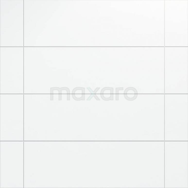 Wandtegel Blanco 30x90cm Uni Wit Mat Gerectificeerd