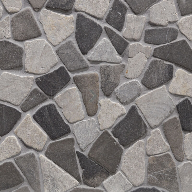 Mozaïek Pedra Mix Grey 30x30cm Natuursteen Multicolor Mat